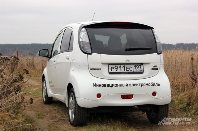 тест-драйв, Mitsubishi i-MiEV
