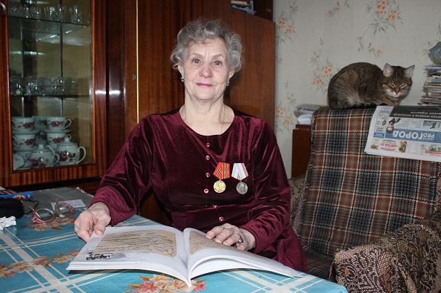 Людмила Щеглова, блокадница