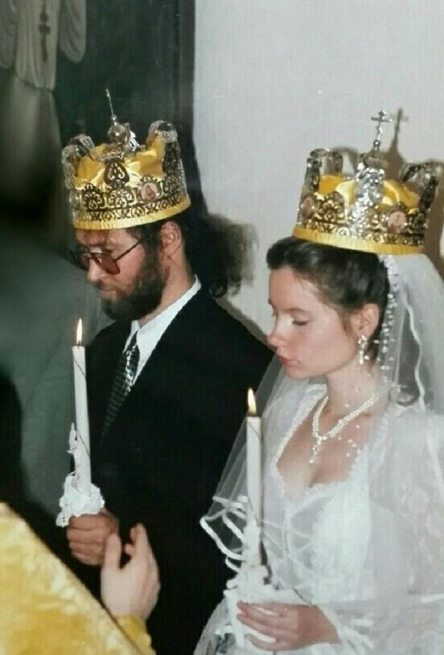 Венчание Николая и Елены.