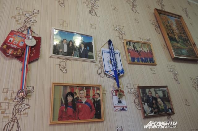 Кабинет украшают дипломы Жанны Владимировны.