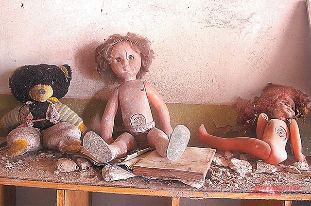 Игрушки в детсаду смотрятся как персонажи фильма ужасов.