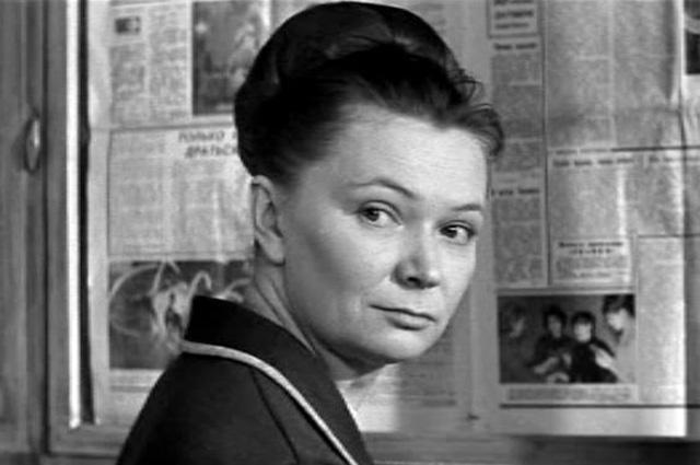 Нина Меньшикова в фильме «Доживём до понедельника», 1968 год