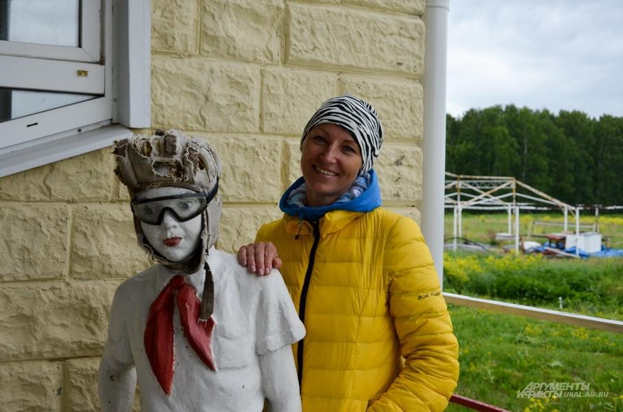 Светлана Секушина родом из Кургана. Помнит все свои 8 000 прыжков.