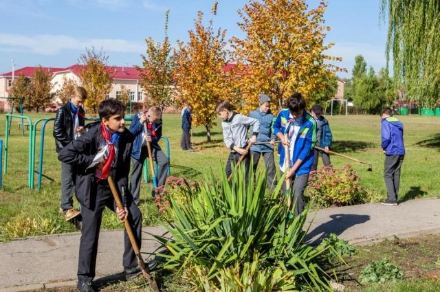 360 обучающихся приняли участие в акции «Посади дерево!»