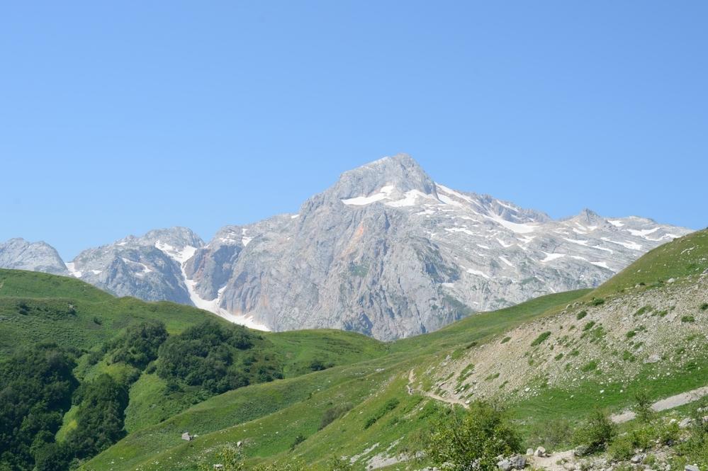 Гора Фишт в Адыгее.