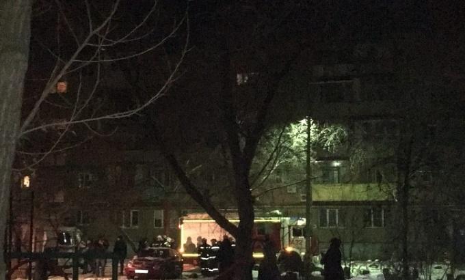 Взрыв газа в Волжском