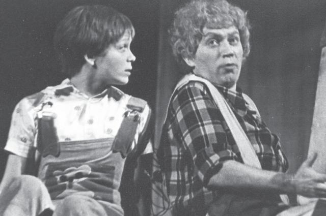 Раньше актеры играли больше разноплановых ролей.