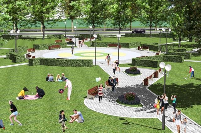 Дизайн-проект коллектива отдела городской среды департамента архитектуры и градостроительства.