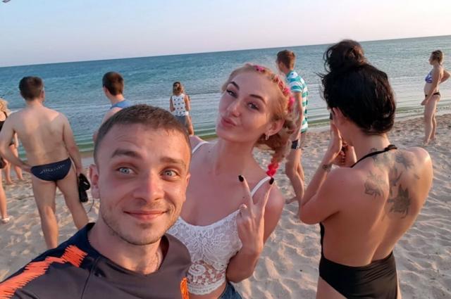 Эту фотографию Иван сделал на Бугазской косе незадолго до исчезновения.