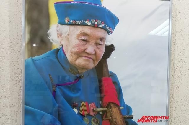 Некоторых зрителей особенно впечатляли фотографии с пожилыми людьми.