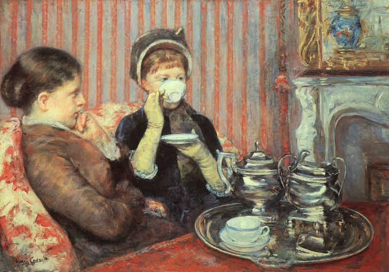 Мэри Кассат. Чай.