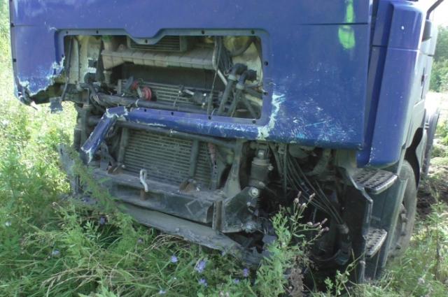 Авария произошла на отвороте на Редькино.