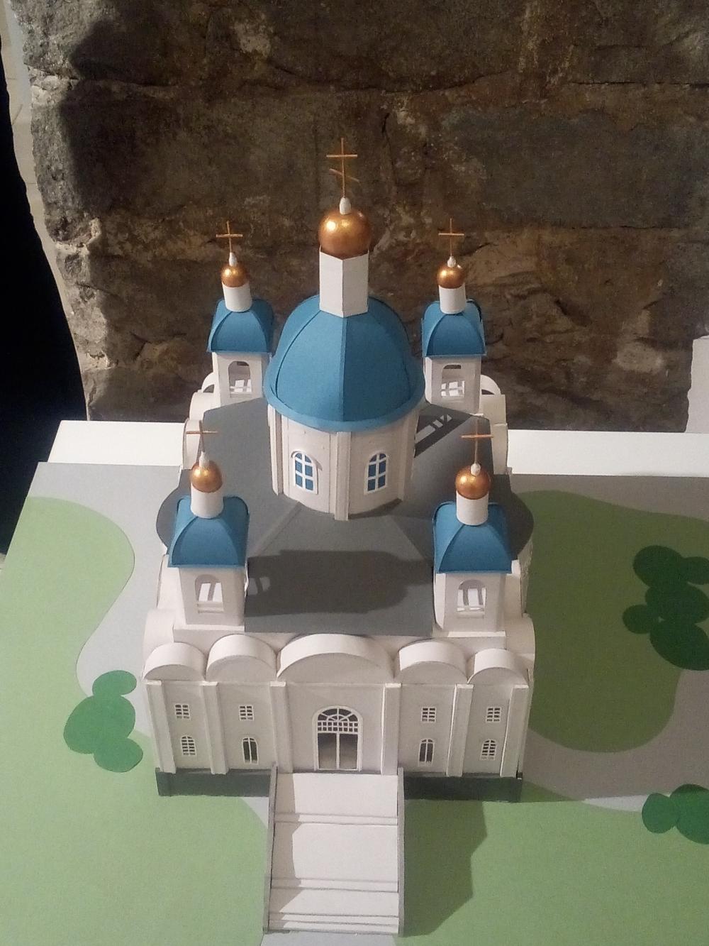 Родовая усыпальница Демидовых в Нижнем Тагиле (макет). Оригинал был уничтожен в 1963 году.