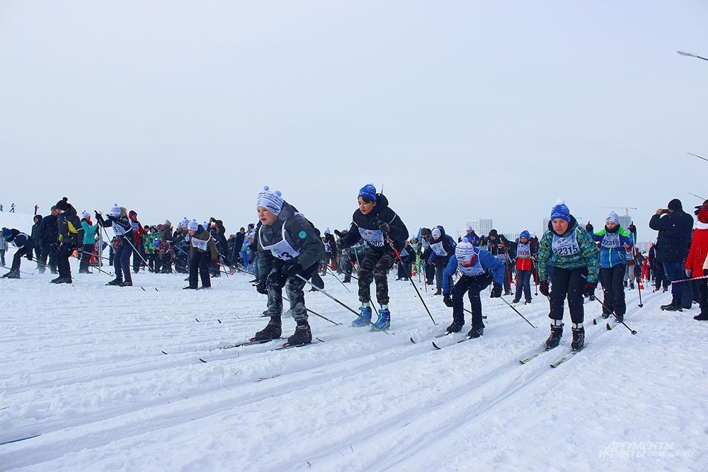 Лыжня России 2020 в Академическом