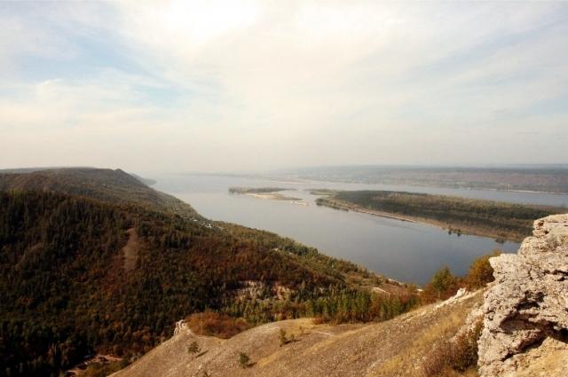Вид с горы Стрельной