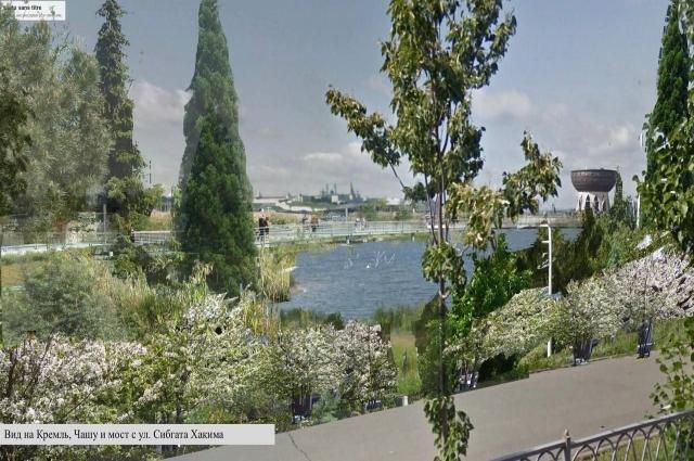 Предполагается, что парк протянется на 40 гектаров.