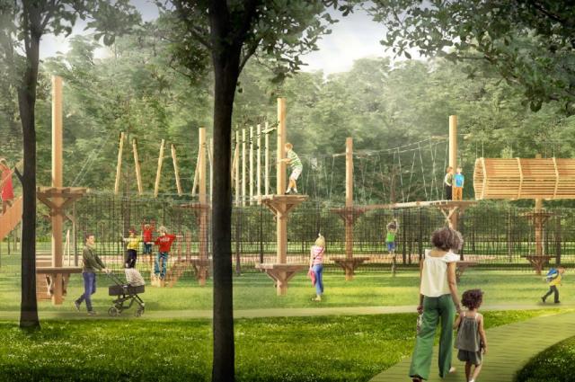 Парк «Швейцария» станет светлым, современным и безопасным.