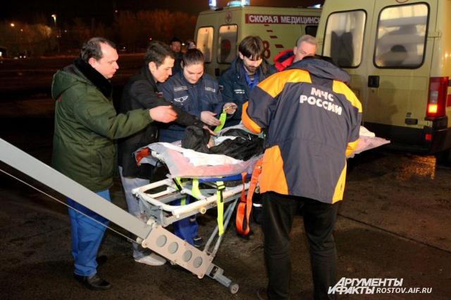 Отправка раненых украинских детей в Москву