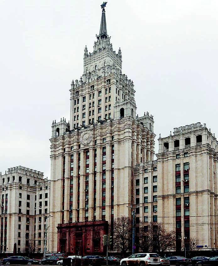 Громада-высотка у Красных Ворот стоит на месте рождения М. Лермонтова