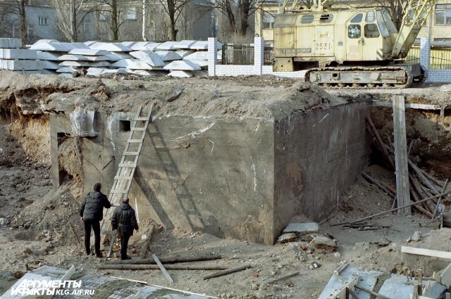 подземелье калининграда, бункер