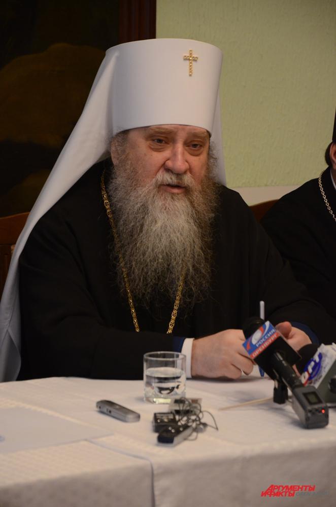 Митрополит Оренбургский и Саракташский Вениамин.