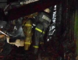 Фото с места возгорания.