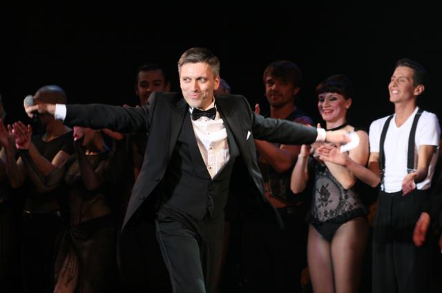 Дмитрий Богачев на премьере мюзикла CHICAGO.