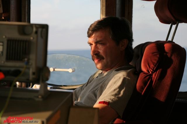Капитан Александр Матвеев.