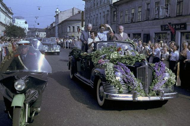 Встреча лётчика-космонавта СССР Валентины Терешковой. 1963 год