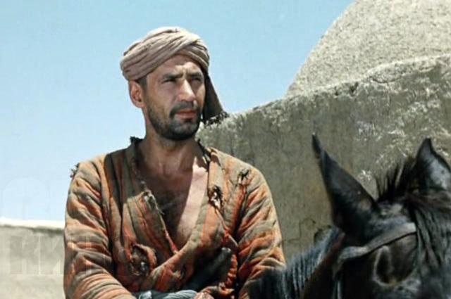 Спартак Мишулин в роли Саида. «Белое солнце пустыни», 1970 год