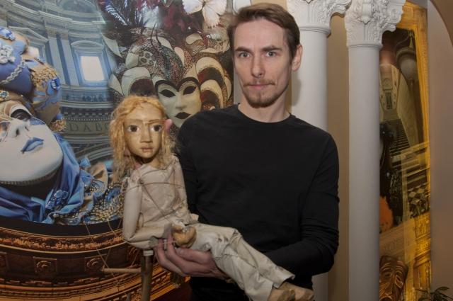 Александру Кузнецову сложнее всего работать именно с этой куклой - Меркуцио.