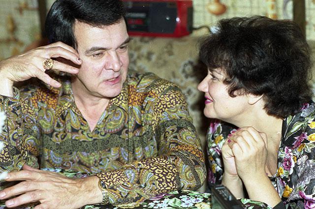 Тамара Синявская и Муслим Магомаев, 1994 г.