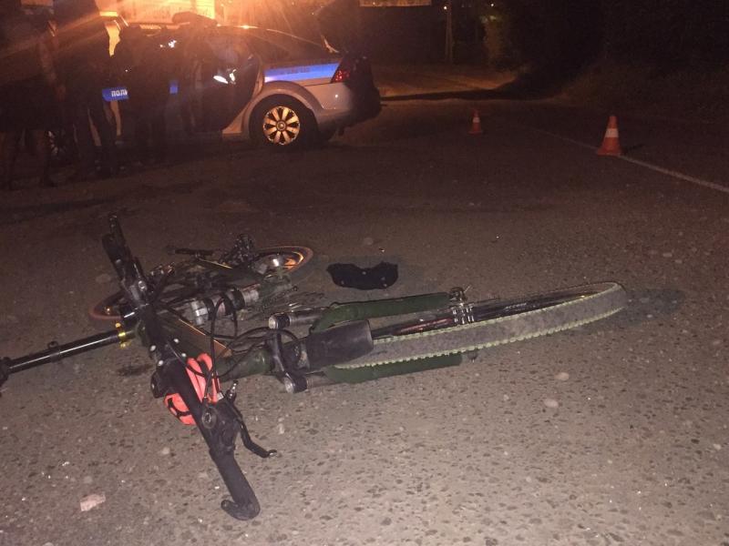 Велосипедист попал в больницу.