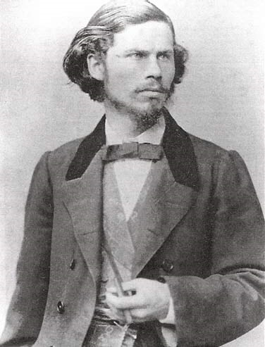 Академист Иван Крамской фотография 1860-e