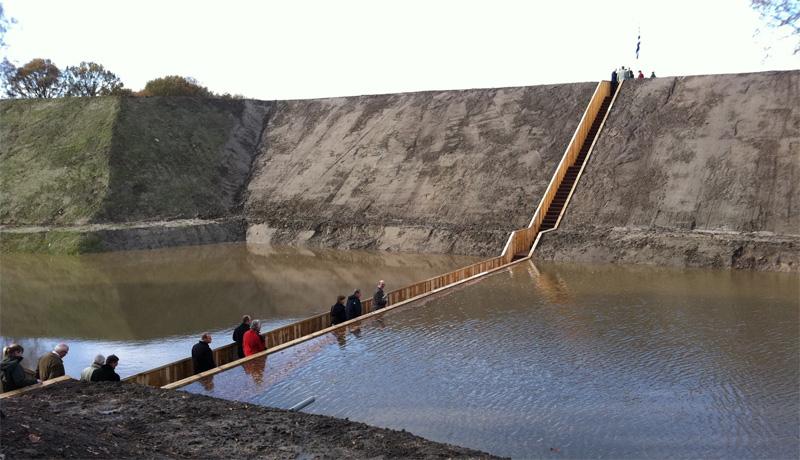 Мост Моисея, Хальстерен