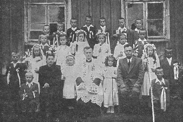 Священник Кароль Войтыла в Неговиче, 1948 год