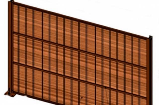 Экраны будут похожи на деревянные