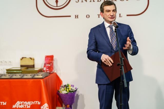 Заместитель председателя Правительства Тверской области Андрей Ищенко.