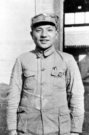 Дэн Сяопин в 1937 году.