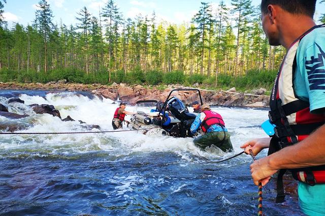 Для нескольких участников это была первая водометная экспедиция.