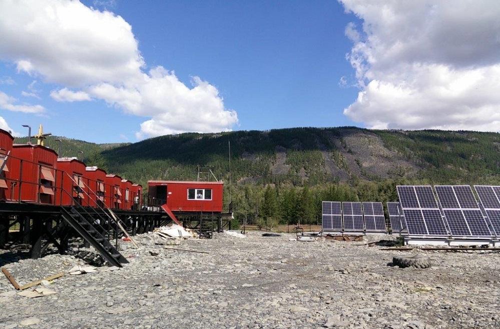СЭС мощностью 50 кВт в поселке Себян-Кюель Кобяйского района.