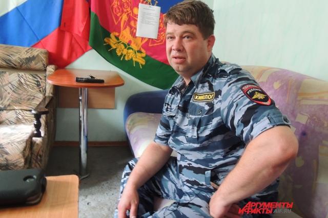 Виталий Дзюба рассказывает, как стал кинологом