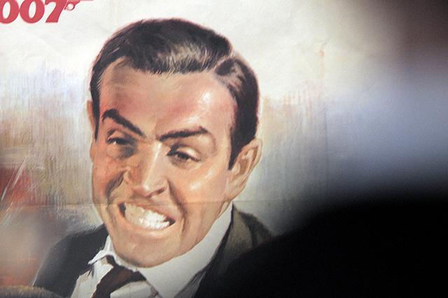Постер к фильму о Джеймсе Бонде с Шоном Коннери в главной роли.