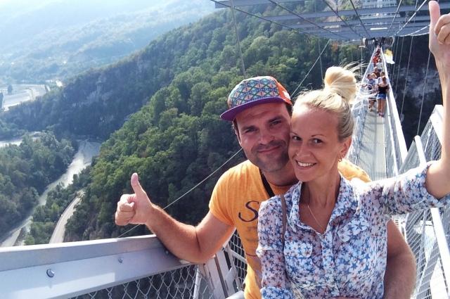На этом мосту Николай сделал предложение своей возлюбленной.