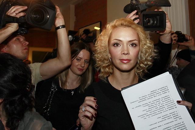 Внучка экс-президента СССР М.Горбачева Ксения Вирганская.