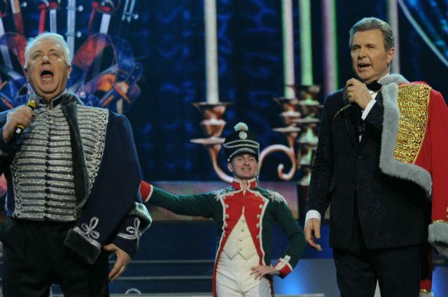Владимир Винокур на юбилейном концерте Льва Лещенко, 2012 год
