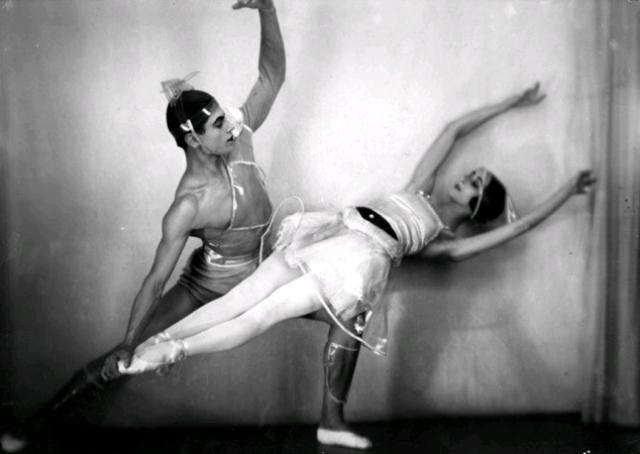 Лифарь и Спесивцева в балете