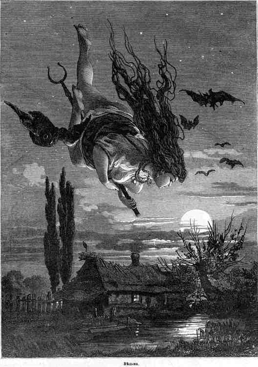 Ведьма. Иллюстрация 1897 года