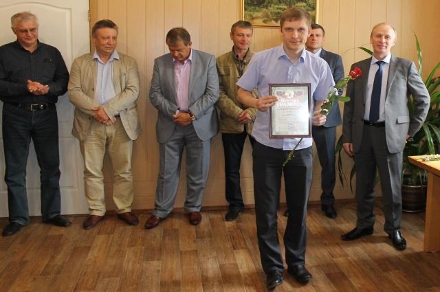 В честь юбилея сотрудники ТЭЦ-1 были награждены грамотами и отмечены благодарственными письмами