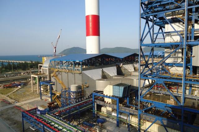 Газоочистная установка электрофильтров на ТЭЦ во Вьетнаме.